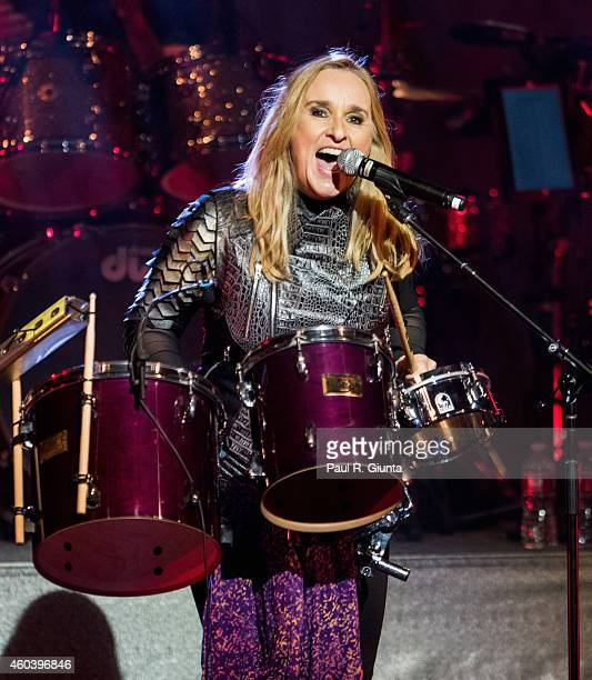 Melissa Etheridge performs on stage at The Orpheum Theatre on December 12 2014 in Los Angeles California