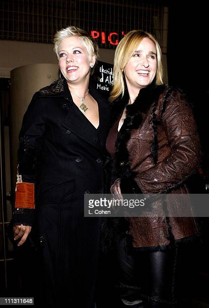 Melissa Etheridge Tammy Lynn Michaels during Melissa Etheridge Live and Alone Movie Premiere at The Egyptian Theater in Hollywood California United...