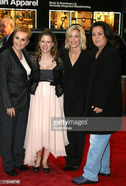 Melissa Etheridge Tammy Lynn Michaels Kelli O'Donnell and Rosie O'Donnell