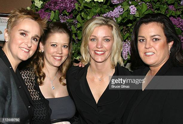 Melissa Etheridge Tammy Lynn Michaels Kelli O'Donnell and Rosie O'Donnell *EXCLUSIVE*