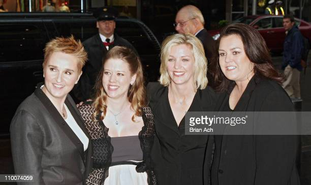 Melissa Etheridge, Tammy Michaels, Kelly O'Donnell, and Rosie O'Donnell