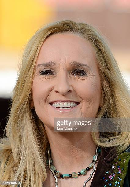 Melissa Etheridge visits 'Extra' at Universal Studios Hollywood on October 9 2014 in Universal City California