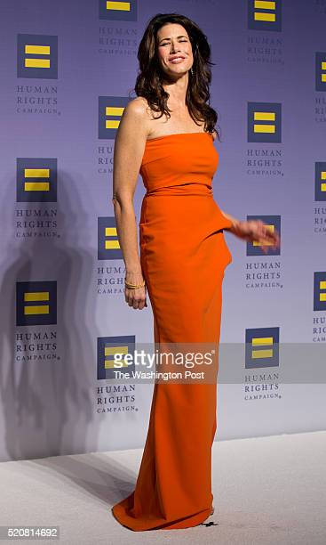 October 3: Melissa Fitzgerald arriving at the 19th annual Human Rights Campaign National Dinner at the Walter E. Washington Convention Center on...