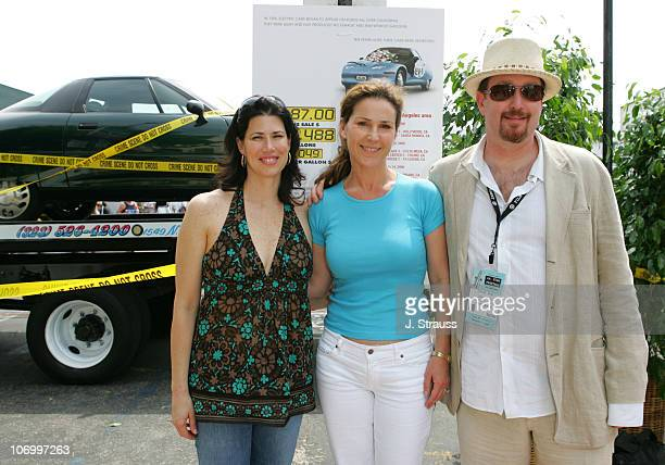 Melissa Fitzgerald Peri Gilpin and Richard Titus during 2006 Los Angeles Film Festival Who Killed The Electric Car Screening and Green Day Fair at...