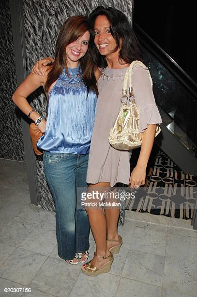 Melissa Foss and Emma SnowdonJones attend GONZO post screening party at Night Hotel NYC on June 25 2008 in New York City