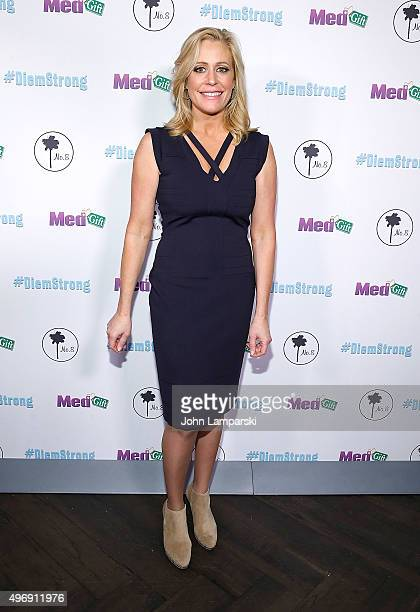 Melissa Francis attends #Diemstrong at No 8 on November 12 2015 in New York City