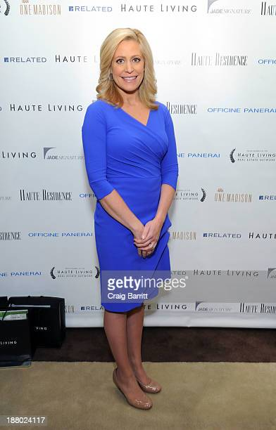 Melissa Francis attends the Haute Living New York City Real Estate Summit on November 14 2013 in New York City