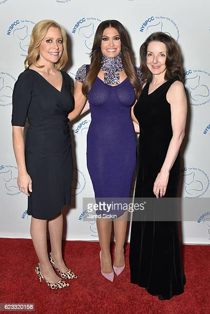 Melissa Francis Kimberly Guilfoyle and Dr Mary L Pulido attend The New York Society for the Prevention of Cruelty to Children Food Wine Gala on...