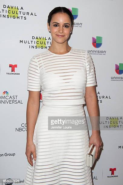 Melissa Fumero arrives at the 18th Annual NHMC Impact Awards Gala at the Regent Beverly Wilshire Hotel on February 20 2015 in Beverly Hills California