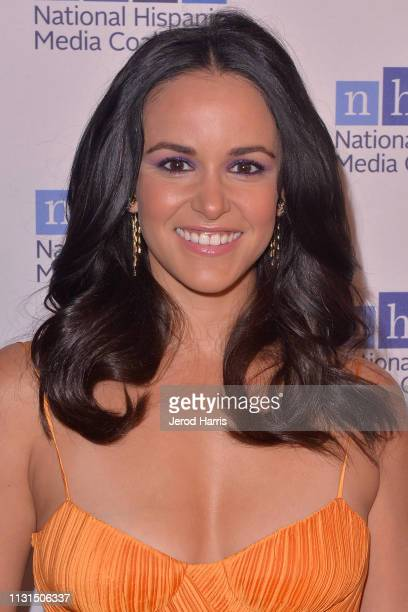 Melissa Fumero arrives at the National Hispanic Media Coalition's 22nd Annual Impact Awards Gala at the Beverly Wilshire Four Seasons Hotel on...