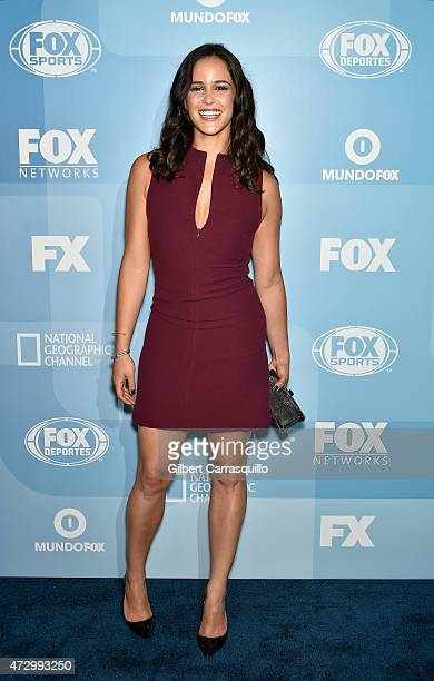 Melissa Fumero attends 2015 FOX Programming Presentation at Wollman Rink Central Park on May 11 2015 in New York City