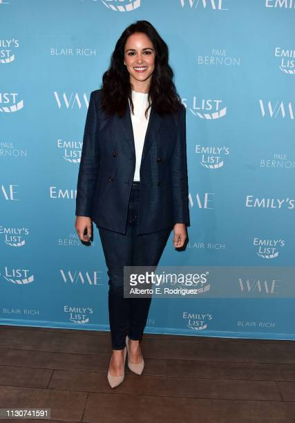 Melissa Fumero attends EMILY's List 2nd Annual PreOscars Event at Four Seasons Los Angeles at Beverly Hills on February 19 2019 in Los Angeles...