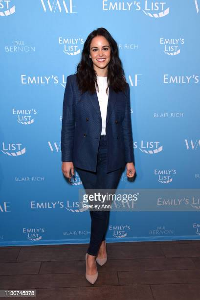 Melissa Fumero attends Raising Our Voices Supporting More Women in Hollywood Politics at Four Seasons Hotel Los Angeles in Beverly Hills on February...