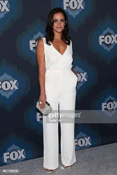 Melissa Fumero attends the 2015 Fox AllStar Party at Langham Hotel on January 17 2015 in Pasadena California