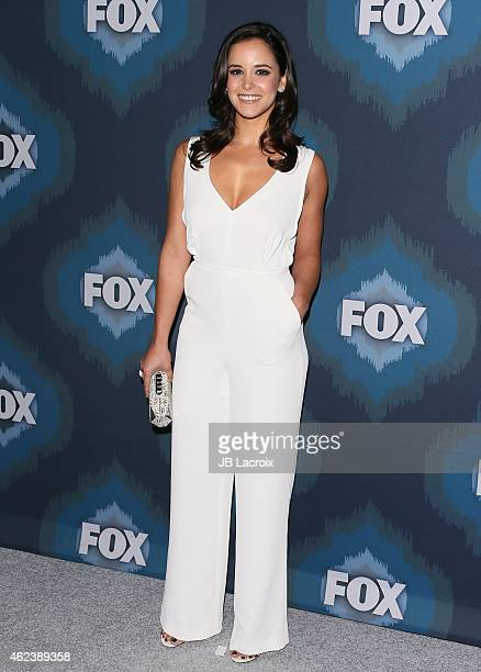 Melissa Fumero attends the 2015 Fox AllStar Party at the Langham Hotel on January 17 2015 in Pasadena California