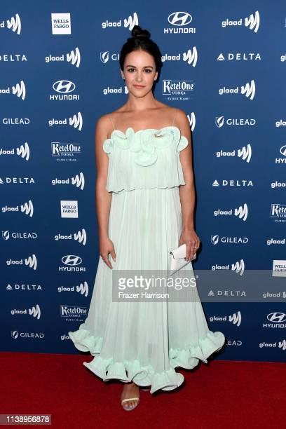 Melissa Fumero attends the 30th Annual GLAAD Media Awards at The Beverly Hilton Hotel on March 28 2019 in Beverly Hills California