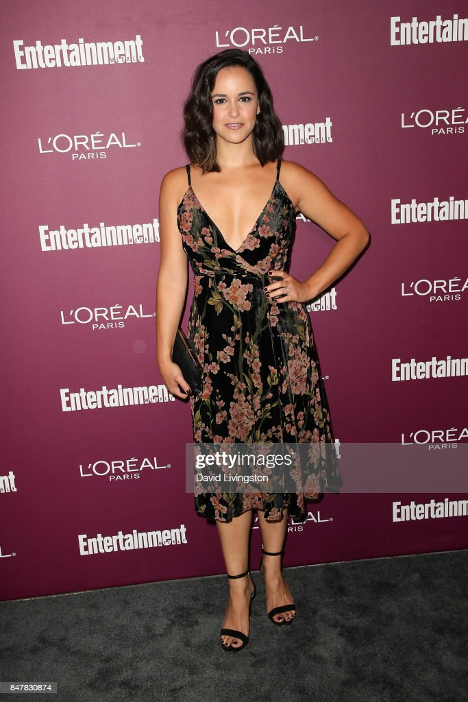 Melissa Fumero attends the Entertainment Weekly's 2017 Pre-Emmy Party at the Sunset Tower Hotel on September 15, 2017 in West Hollywood, California.