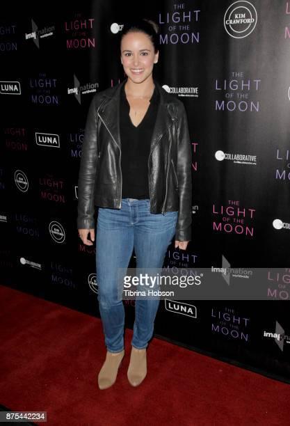 Melissa Fumero attends 'The Light Of The Moon' Los Angeles premiere at Laemmle Monica Film Center on November 16 2017 in Santa Monica California