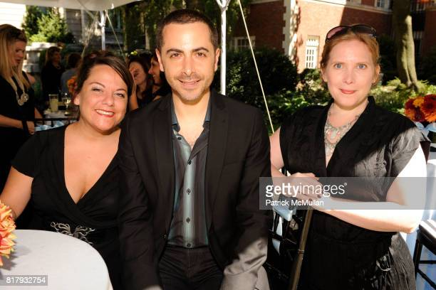 Melissa Gedemer Stephen Dolginoff and Melinda Berk attend Cynthia Rowley Summer/Spring 2011 Reception With Johnson Johnson at Cooper Hewitt Museum on...