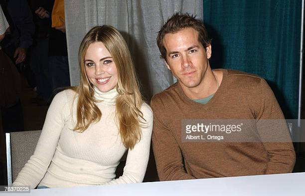 Melissa George and Ryan Reynolds of The Amityville Horror