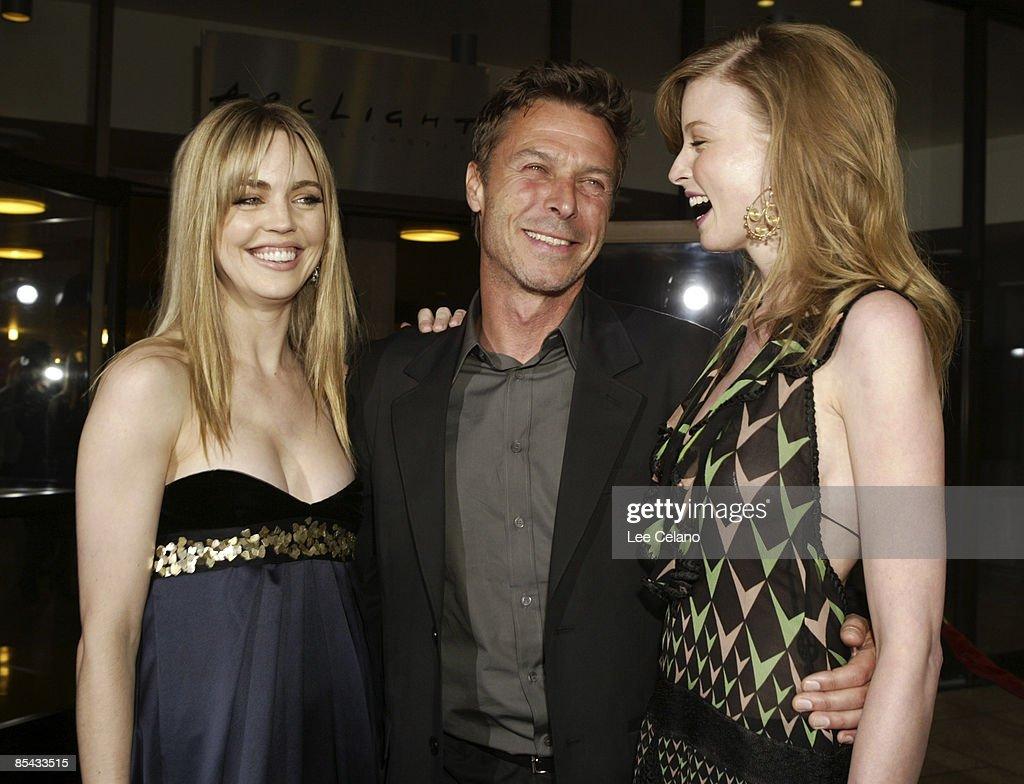 Melissa George, Andrew Douglas, director and Rachel Nichols
