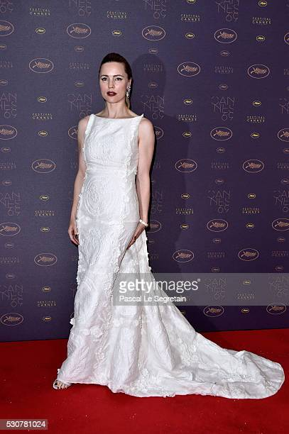 Melissa George arrives at the Opening Gala Dinner during the 69th Annual Cannes Film Festival on May 11 2016 in Cannes France