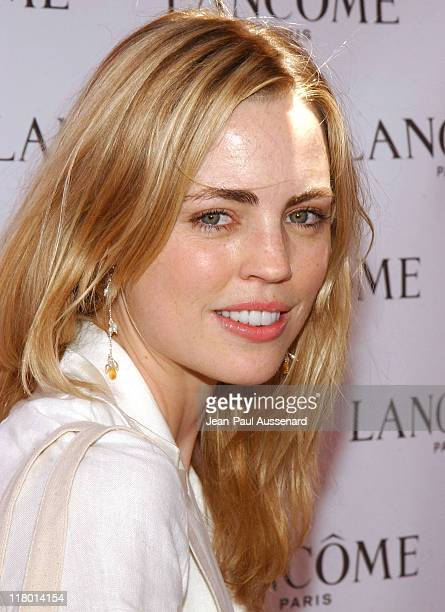 Melissa George at Lancome during Silver Spoon Hollywood Buffet Day One at Private Estate in Hollywood California United States Photo by JeanPaul...