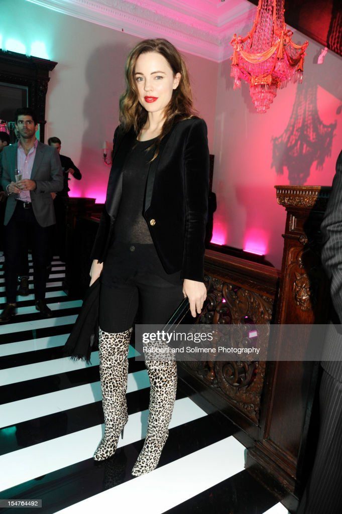 Melissa George attends Jimmy Choo Celebrates the Launch of the Exclusive Collaboration with Artist Rob Pruitt at The Fletcher Sinclair Mansion on October 25, 2012 in New York City.