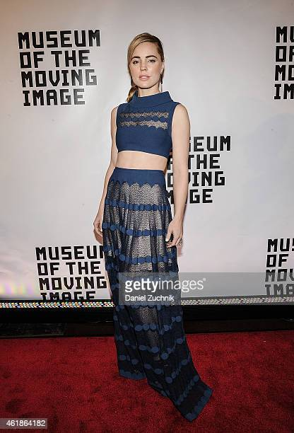 Melissa George attends Museum Of The Moving Image Honors Julianne Moore at 583 Park Avenue on January 20 2015 in New York City