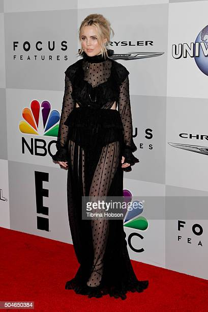 Melissa George attends NBCUniversal's 73rd Annual Golden Globes After Party at The Beverly Hilton Hotel on January 10 2016 in Beverly Hills California