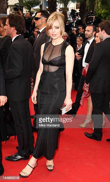 Melissa George attends the De Rouille et D'os Premiere during the 65th Annual Cannes Film Festival at the Palais des Festivals on May 17 2012 in...