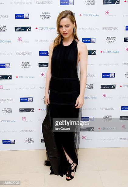 Melissa George attends The English National Ballet's Christmas Party at the St Martins Lane Hotel on December 14 2011 in London England