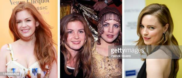 In this composite image a comparison has been made of actresses Isla Fisher and Melissa George Many of today's leading Hollywood stars began their...