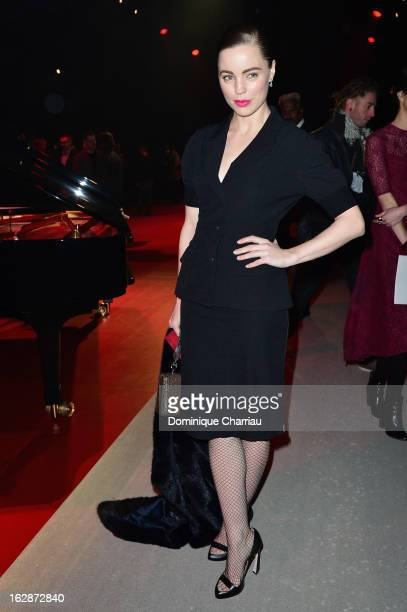 Melissa George attends the Nina Ricci Fall/Winter 2013 ReadytoWear show as part of Paris Fashion Week on February 28 2013 in Paris France