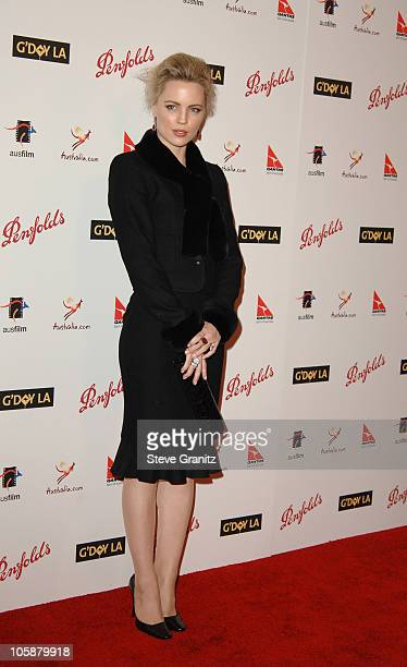 Melissa George during G'Day LA Australia Week 2006 Penfolds Icon Gala Dinner Arrivals in Los Angelees California United States