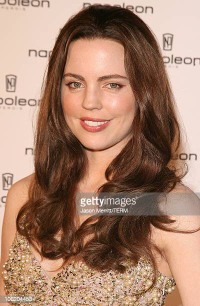 Melissa George during Napoleon Perdis Hollywood Store Unveiling May 1 2007 at Napoleon Perdis in Hollywood California United States