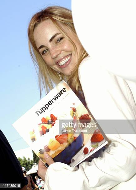 Melissa George during Silver Spoon Hollywood Buffet Day One at Private Estate in Hollywood California United States Photo by Jaimie...