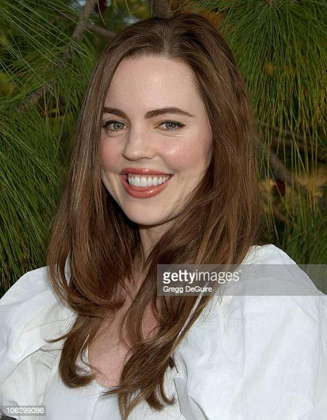 Melissa George during Sixth Annual Chrysalis Butterfly Ball Arrivals at Home of Susan Harris Hayward Kaiser in Mandeville Canyon California United...
