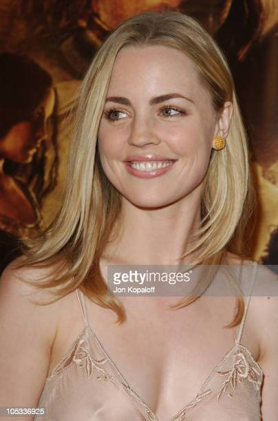 Melissa George during The Lord Of The Rings The Return Of The King Los Angeles Premiere at The Mann Village Theatre in Westwood California United...