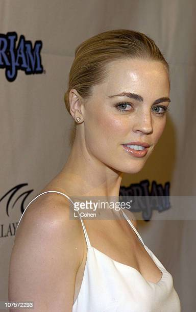 Melissa George during Tiger Jam VII Red Carpet Arrivals at Mandalay Bay Events Center in Las Vegas Nevada