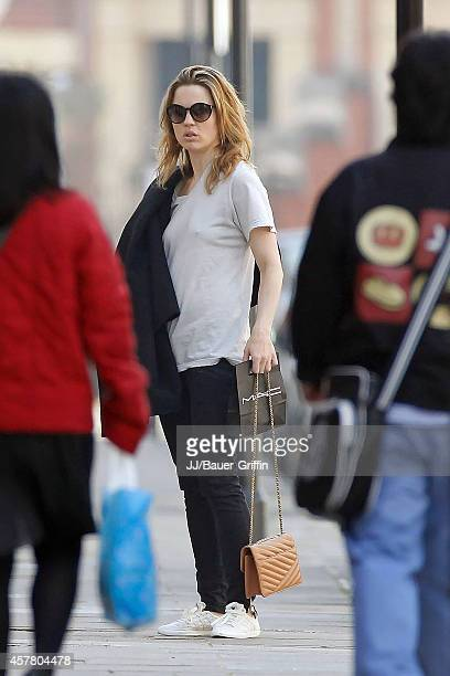 Melissa George is seen on May 10 2012 in London United Kingdom