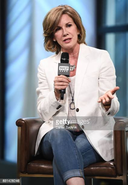 Melissa Gilbert attends the Build Series to discuss her offbroadway show 'If Only' at Build Studio on August 14 2017 in New York City