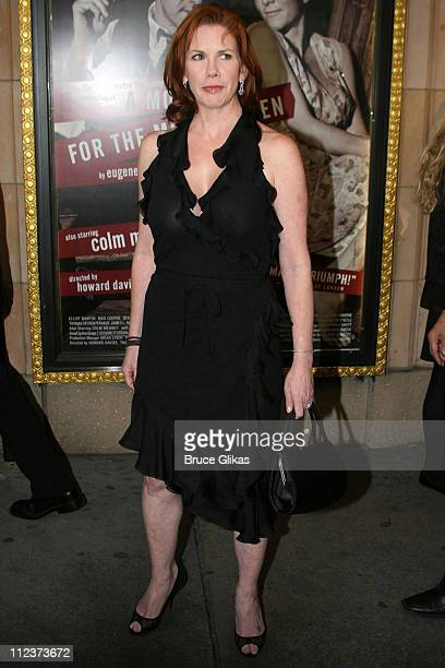Melissa Gilbert during A Moon for the Misbegotten Broadway Opening Arrivals at The Brooks Atkinson Theatre in New York City New York United States