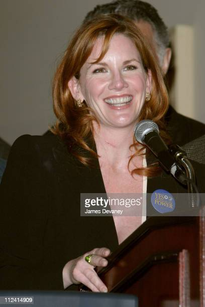 """Melissa Gilbert during SAG and AFTRA Celebrities Who Have The """"Urge to Merge"""" Get Together In Support Of Consolidating The Two Unions at Roosevelt..."""
