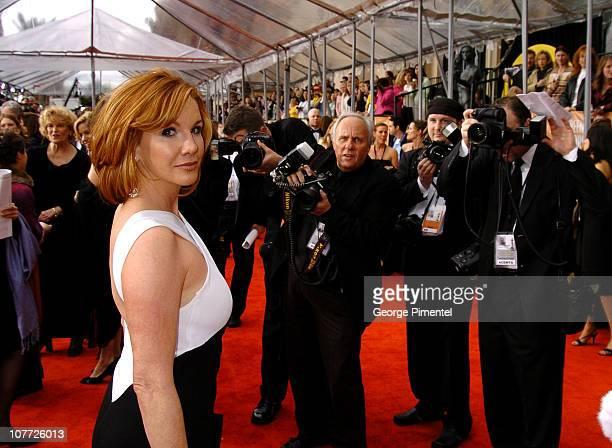 Melissa Gilbert Screen Actors Guild President during 10th Annual Screen Actors Guild Awards Access Hollywood Red Carpet at Shrine Auditorium in Los...