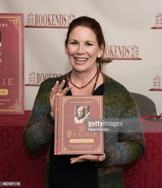 "Melissa Gilbert signs copies of her new book ""My Prairie Cookbook"" at Bookends Bookstore on January 29, 2015 in Ridgewood, New Jersey."