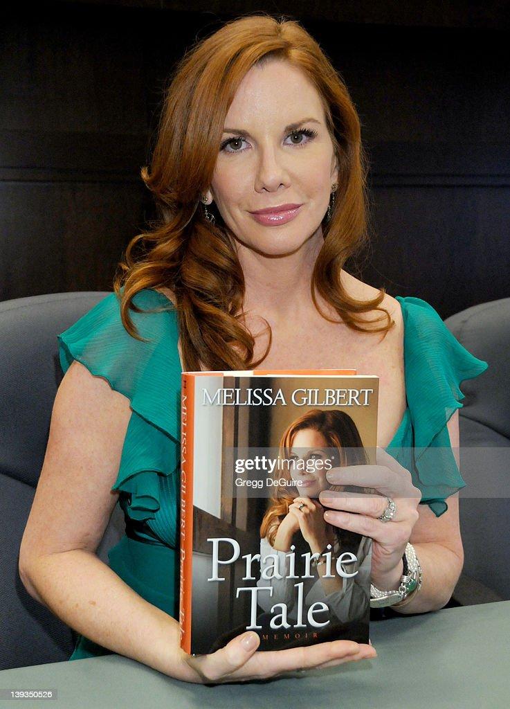 """Melissa Gilbert Book Signing of """"Prairie Tale: A Memoir"""" : News Photo"""