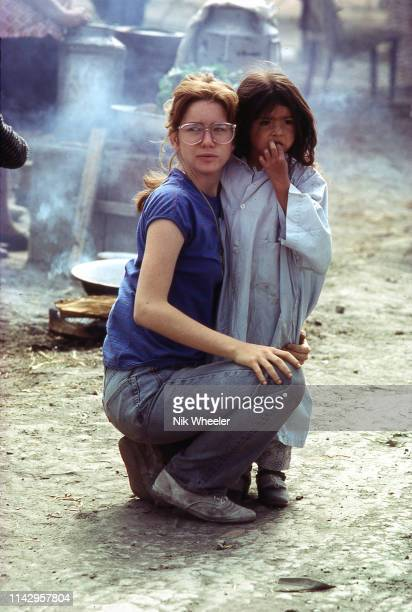 """Melissa Gilbert, star of TV series """"Little House on the Prairie"""", plays Jean Donovan, a lay- missionary murdered in El Salvador in 1980 and filmed in..."""