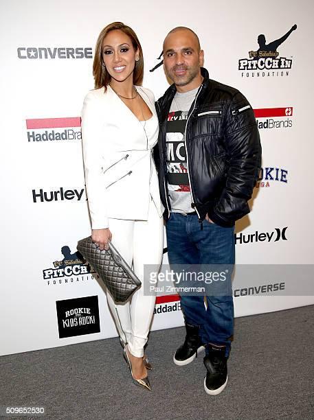 Melissa Gorga and Joe Gorga pose backstage at the Rookie USA Presents Kids Rock! - Front Row & Backstage - Fall 2016 New York Fashion Week: The Shows...