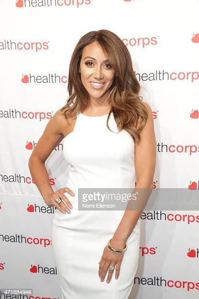 Melissa Gorga attends the 9th Annual HealthCorps' Gala at Cipriani Wall Street on April 29 2015 in New York City